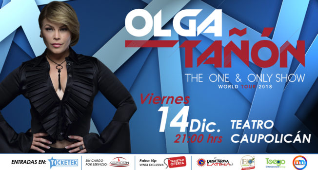 "OLGA TAÑÓN ""THE ONE & ONLY TOUR"""